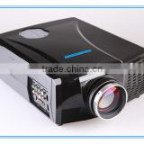 2015 Drop Shipping 2600 Lumens Full HD LED HDMI Outdoor Projector LX768 3D Cinema Video Proiettore