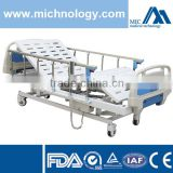 Stainless Steel Guardrail Height Adjustment Electrical Hospital Bed