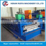 High efficiency Iron Glazed Roofing Cold Steel Tile Making Machine, Metal Tile Roll Forming Machine