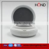 White Air Cushion Round Empty Compact Powder