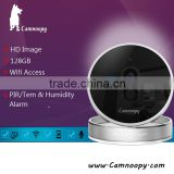 Camnoopy 720p smart home indoor wireless p2p spy security cube ip camera support PIR alarm sensor