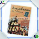 High Definition Lenticular Printing PP/PET Cover Spiral Note Book/3D Lenticular Note Book
