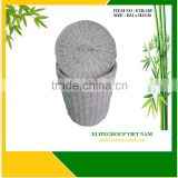 Viet Nam product rattan trash can with elitegroup.