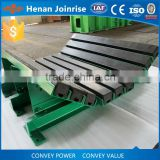 Material loading point, replace impact roller, heavy duty composit conveyor impact buffer bed