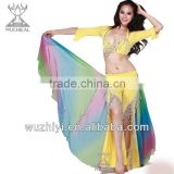 Belly Dancing Costumes Hip Scarf, New Sexy Tribal Cheap Belly Dance Waist Wings, Performance Hip Scarf for Sale (DJ018)