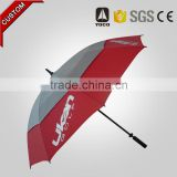oversize outdoor multi-color double canopy golf umbrella