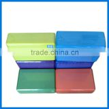 2015 wholesale custom logo printing eva cork foam bamboo yoga block