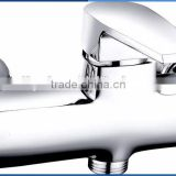 Classic lavatory single zinc handle brass body shower tray faucet chrome plating MARTI wall mounted shower tray mixer