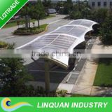 High class 50W semi-flexible monocrystal silicon Solar Panel for car park