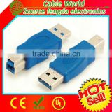 USB 3.0 type A to type B adapter male to male