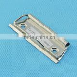 china stationery hammered metal jewelry accessories for pp folder