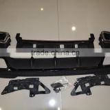Rear bumper Diffuser kits For Mercedes Benz W212 E class E63 AMG
