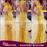 discounted!! yellow maxi wedding dresses 2015 vestidos casual girls long dress sexy women backless yellow chiffon dress