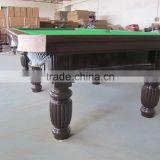 2015 the best selling Solid Wood high quality billiard pool snooker games table