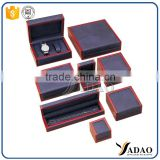 customize lacquer unfinished wooden box jewelry box storage jewelry wood packaging box supplier