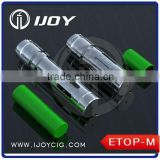 Ijoy DIY mechanical mod Etop-M electronic cigarrete starter kit mechanical mod
