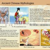 wall chart for children education,Ancient Chinese Mythologies teaching wall charts
