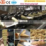 Gelgoog Full Automatic Ice Cream Sugar Cone Automatic Industrial Sugar Cone Making Machine for sale