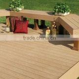 high quality factory manufacture Hot sale Fusion Outdoor decking board(terrasse composite)