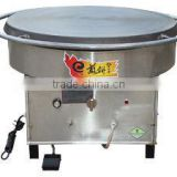 600mm rotating non stick industrial gas crepe maker