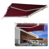 Manual 8.2'*6.6' Retractable patio deck awning outdoor sun shade canopy shelter, hot sale in Ebay,Trade assurance supplier