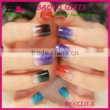 Hot Selling gradient color nail sticker for girls, Gradient nail stick Fashion Nail art Decals