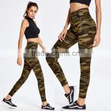 New Women's Lady Sport Leggings Pants Patchwork High Waist Stretched Leggings Gym Fitness Yoga Pants Running Wear