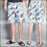 Ecoach mens swimwear manufactuer high quality 100%nylon full digital print custom mens swim shorts