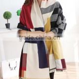 trendy design women geometric pattern scarf