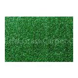 2200Dtex Green Indoor Artificial Grass Turf 10mm, Gauge 5/32 for Hotel Decoration SL1002J