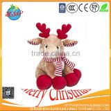 stuffed plush christmas toy deer plush toy deer