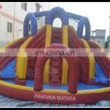 manafacture price inflatable water slide with pool air toy inflatable pool with slide for sale
