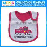 Baby Boys Bib Car Pattern Water-proof Baby Burp Cloths