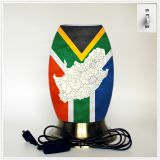 Creative lamp, decorative table lamp, LED desk lamp, South African culture series table lamp (Dzaf001)