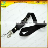 Polyester material advanced soft lanyard