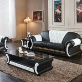 Foshan furniture factory direct sale price multi colors leather chesterfield sofa