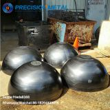 Asme hemispherical tank head steel hemisphere dome cap for gas condenser