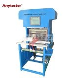 Semi-automatic sample shuttle weaving loom with 12 inch or 16 inch available