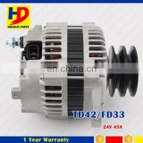 FD33 Alternator For Nissan TD42 23100-11T18 24V 45A