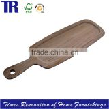 Beech Tray,Wood Food Tray Plate,Irregular Tray Plate