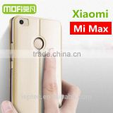 MOFi Original Celulares Housing for Xiaomi Mi Max, Mobile Phone Blank Leather Flip Cover Case for Xiaomi Max