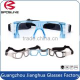 Black frame clear lens welding glass basketball training hunting safety glasses for eye protective