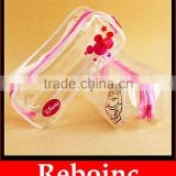 Give away dental accessories transparent Zipper lock PVC pouch                                                                         Quality Choice
