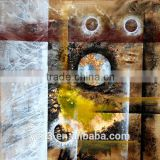 New design home decor abstract painting textured