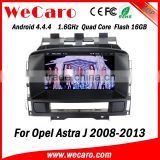 Wecaro WC-OU7882 Android 4.4.4 car dvd player quad core car mirror link for opel astra j car navigation stereo tv tuner