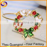 Wholesale christmas bridal flower bouquet latest design vogue jewellery bangle