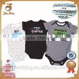 100% Cotton Stocklot Baby Romper with Short Sleeve Closeout