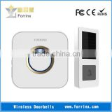 FORRINX 52 Ringtones 300m Distance Wireless Electronics Doorbell with Battery-free Solar Energy Powered Push Button