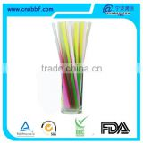 7*200 color changing disposable drinking straw