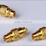 RF MMCX plug, male gender, pin contact connector forapplication mobile